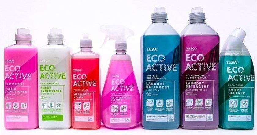 環保清潔用品廣受歡迎 英國特易購開創自家品牌